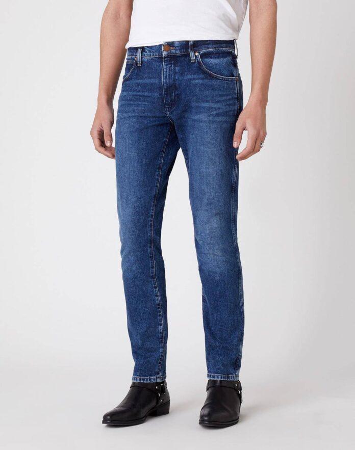 spodnie jeansowe męskie Wrangler